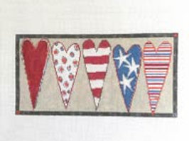 Stars and Stripes Hearts