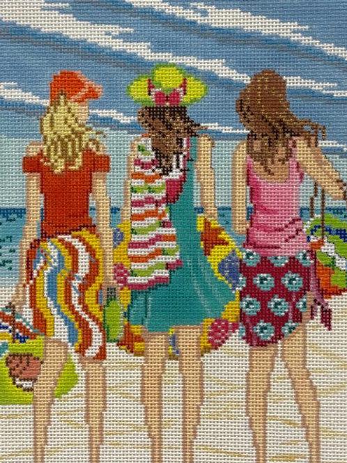 Three Girls in Summer