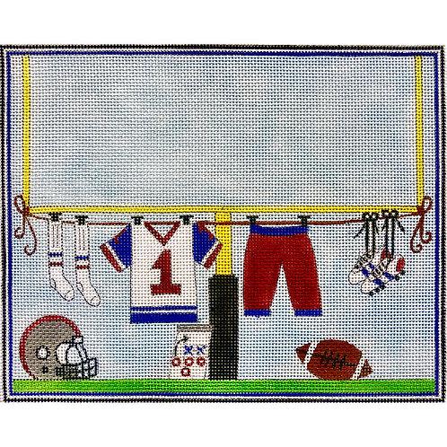 Football Players Clothesline