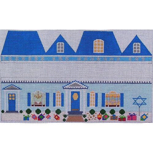 Square Hanukkah House