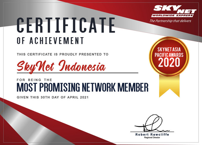 Achievement SkyNet Indonesia