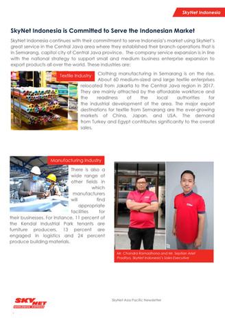 SkyNet Asia Pacific Newsletter