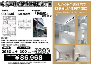 梅田2丁目 2980万 HP用★.jpg