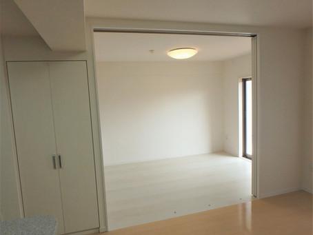 和室を洋室に、リビングがこんなにも広くなります。/亀山