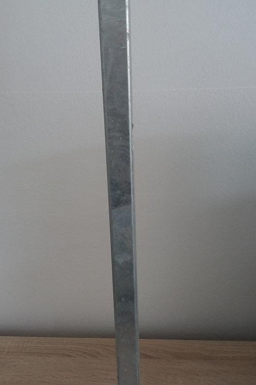 Fußplatte für Pfosten A und E