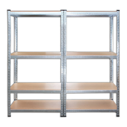 Steckregal Doppelregal galvanisiert bis 520 kg belastbar