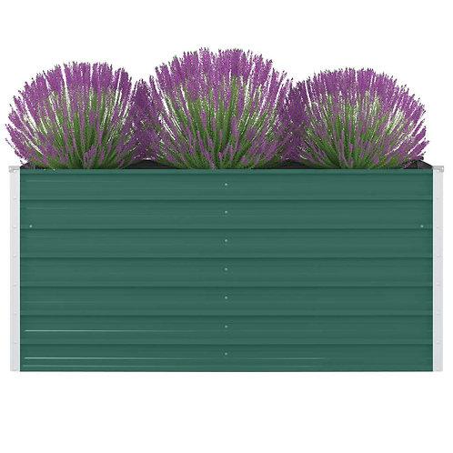 Hochbeet 160 x 80 x 77 cm Grün
