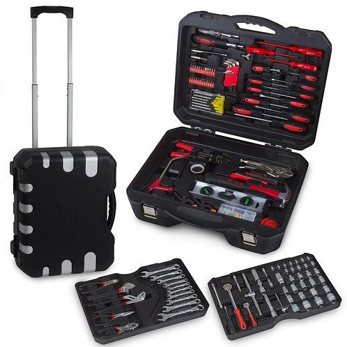 Werkzeugkoffer 207 Teile mit Trolleyfunktion