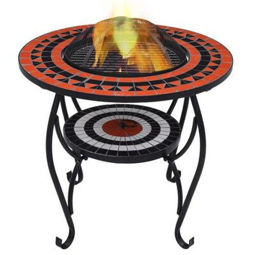 Feuerschale Mosaik 68 cm Keramik in verschiedenen Farben