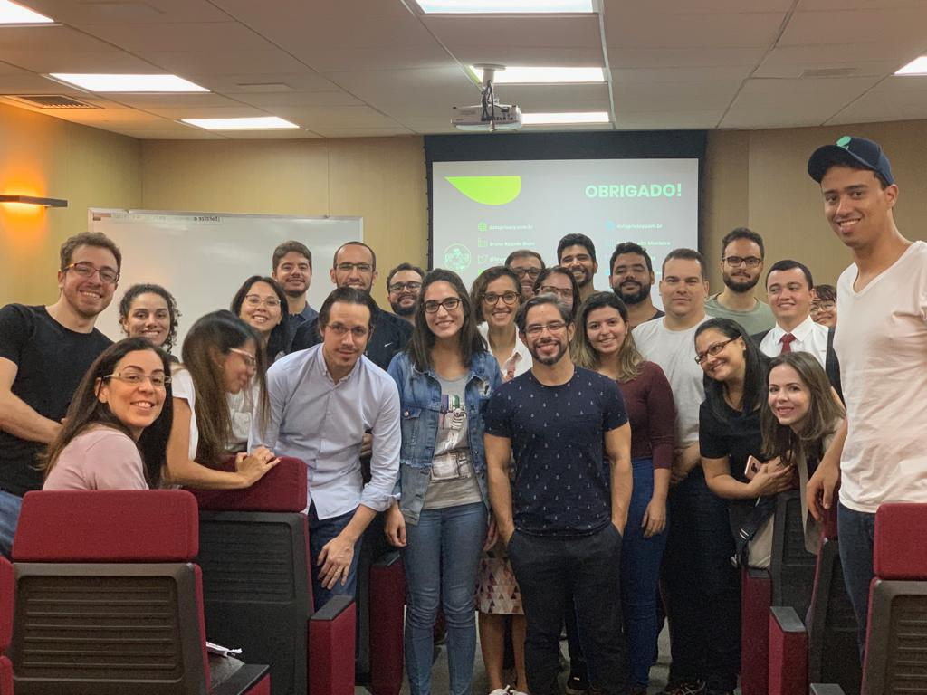 Turma do Curso DTIBR 2019