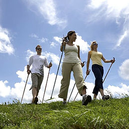 Nordic walking class