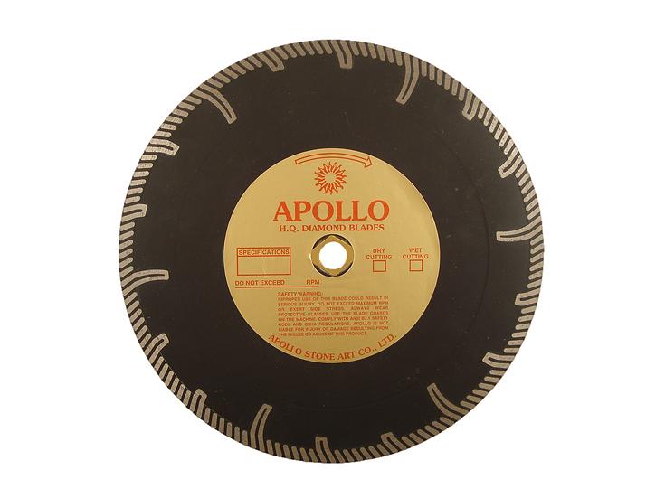 """10"""" Apollo Professional Continuous Rim Turbo Blade"""