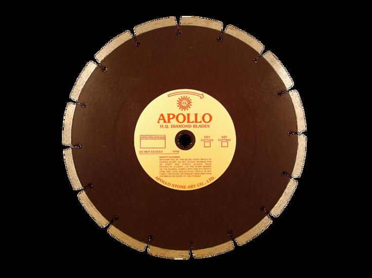 "12"" Apollo Premium High Quality Concrete Blade"