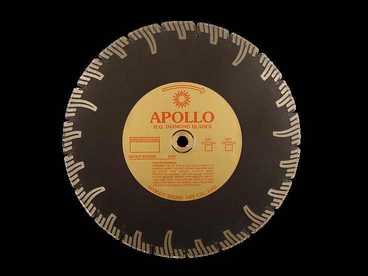 "10"" Apollo Professional Segmented Turbo Blade"
