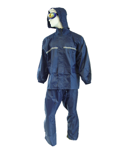 Apollo Rain Suit - Navy Blue