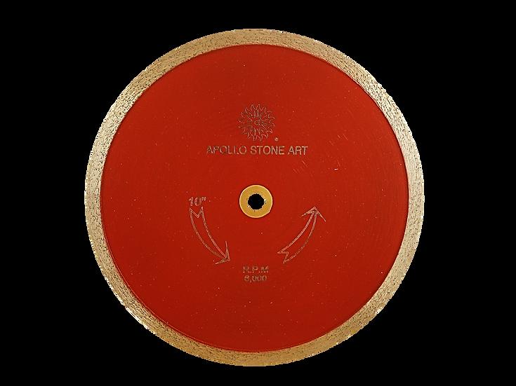 "10"" Apollo Professional Continuous Rim Tile Blade"