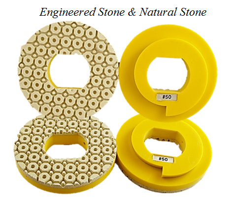 Snail Lock Water Pocket Pad - Engineered Stone