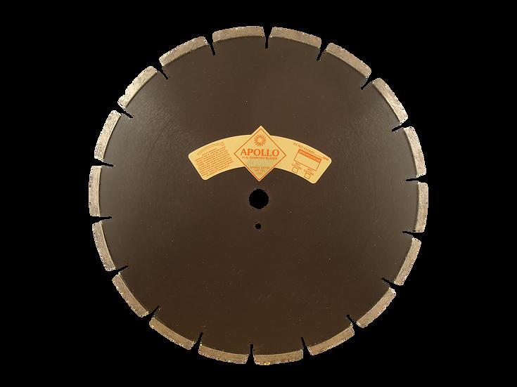 """Premium Heavy Duty 14"""" Laser Weld Segmented Asphalt Blade"""