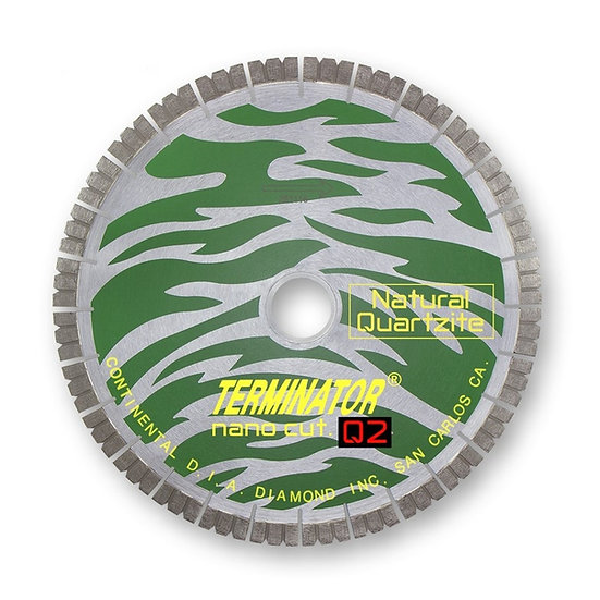 Terminator NanoCut. Q2 Quartzite Bridge Saw Blade