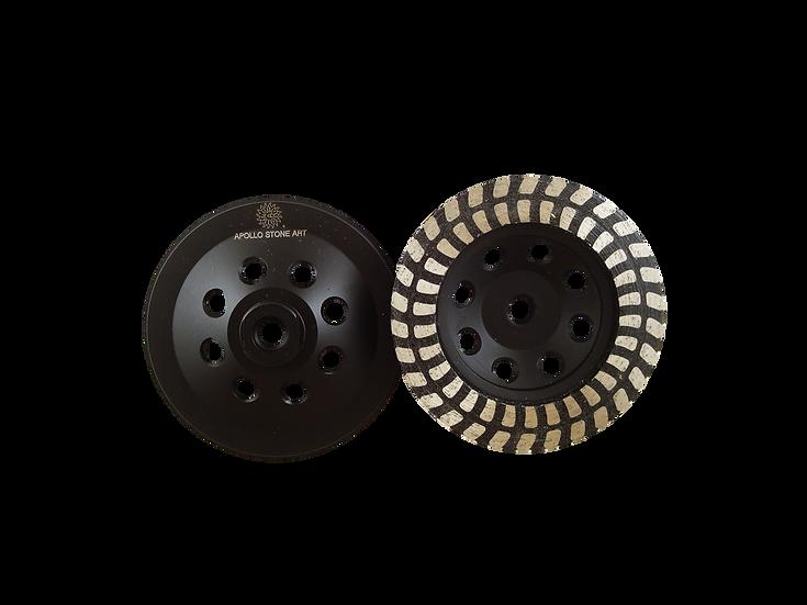 """5"""" Resin Filled U Series Cup Wheel"""