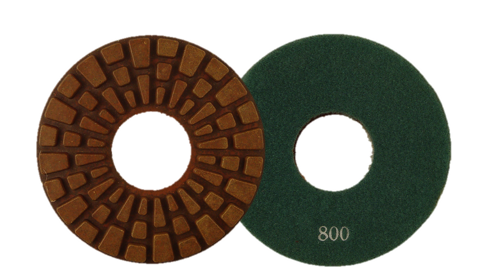 "6"" Professional Heavy Duty Rigid Polishing Pad"