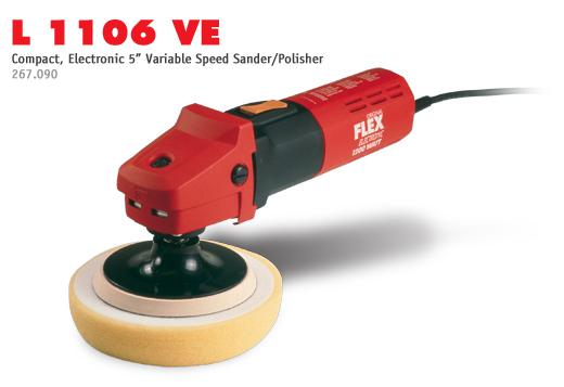 FLEX L1106 VE Variable Speed Grinder/Polisher