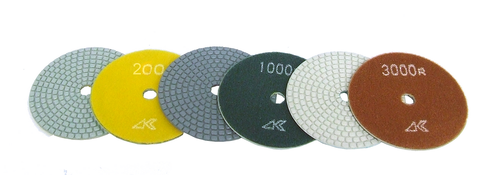 "Alpha® 4"" Ceramica Dry Polishing Pads"