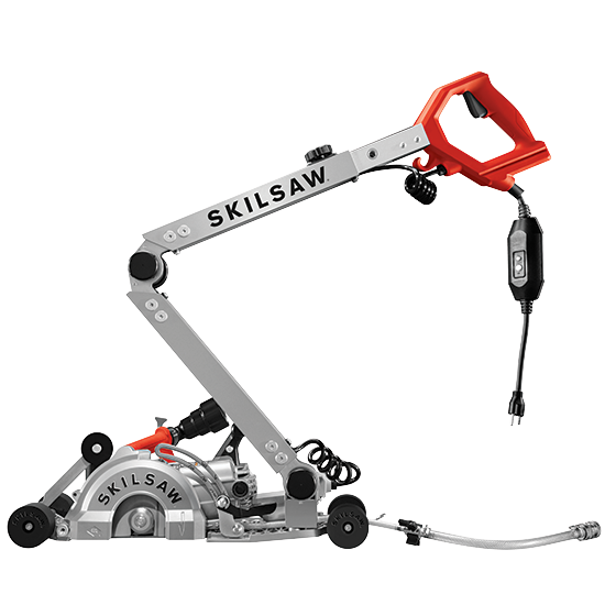 """Skilsaw 7"""" Walk Behind Worm Drive Skilsaw for Concrete"""