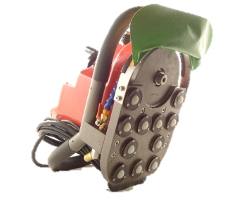 Light-Duty Edge Machine - Variable Speed Control - Roller Ball Base
