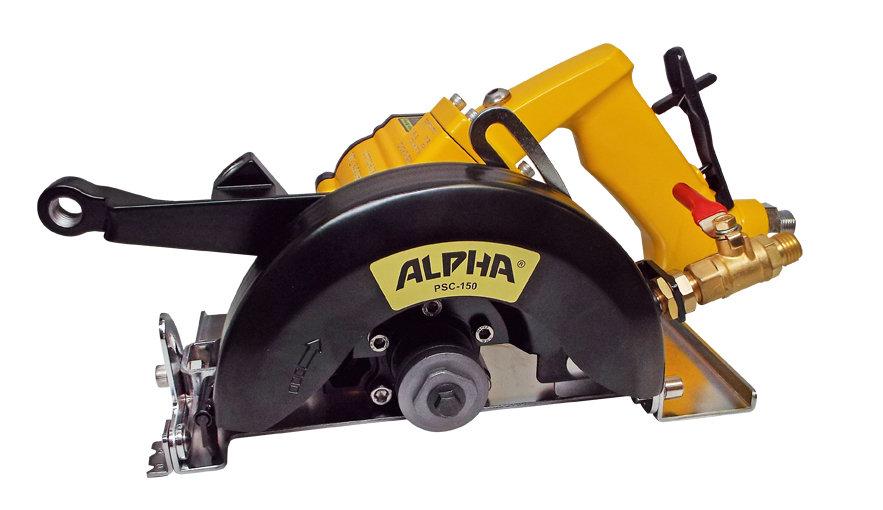 ALPHA® PSC-150 6'' Pneumatic Stone Cutter