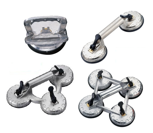 Suction Cup Lifters with Aluminum Handle