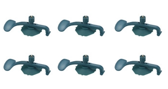 6-Piece Suction Clamps