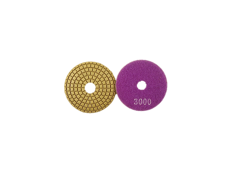 Ogee Convex Polishing Pads