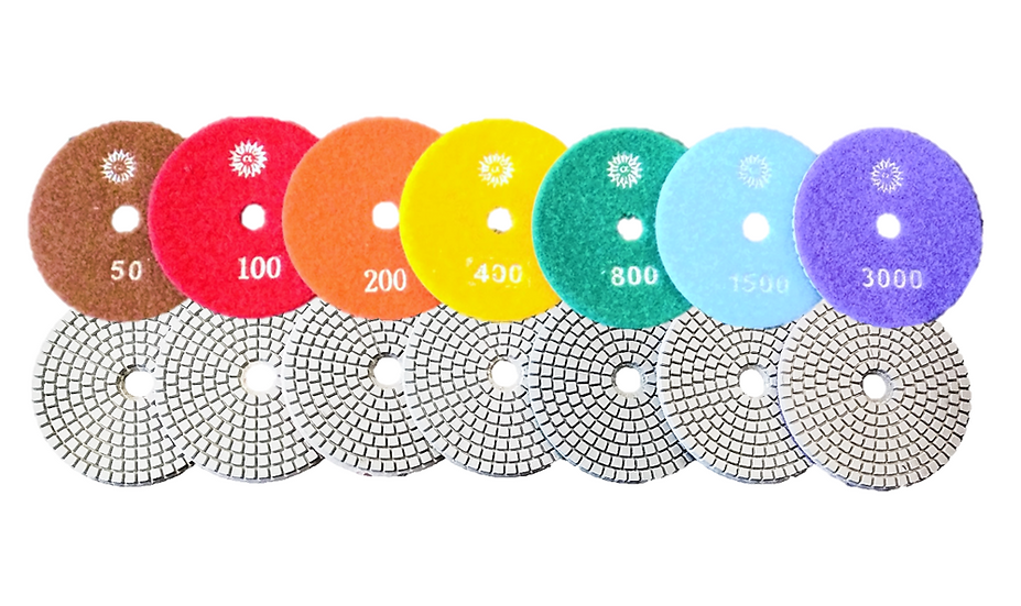 Apollo Dry and Wet Square Pattern Polishing Pads