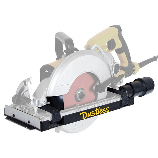 Dustless Worm Drive Circular Saw Dust Collection