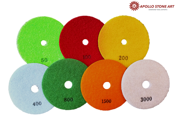 Apollo Professional Dry Polishing Pads