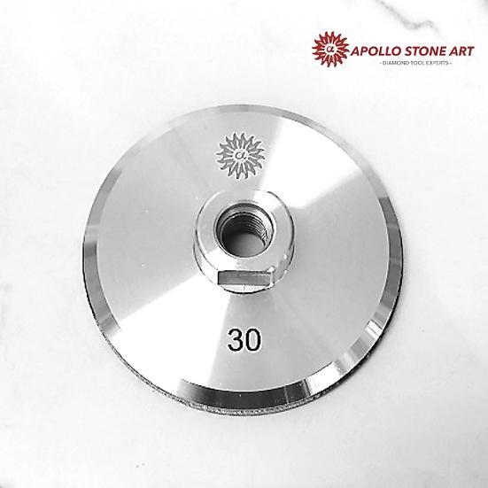 "4"" Apollo Diamond Resin Aluminum Cup Wheel"