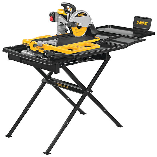 """Dewalt D36000S - 10"""" High Capacity Wet Tile Saw with Stand"""