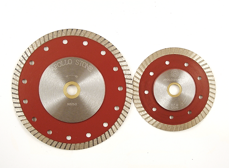 Apollo Continuous Rim Turbo Tile Blade with Reinforced Steel Core