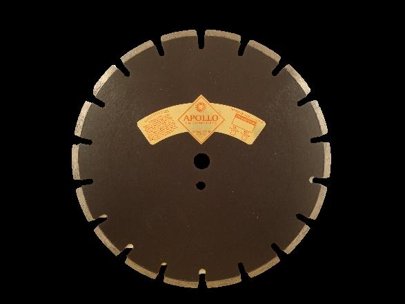 Supreme U Gullet Laser Weld Segmented Asphalt Blade