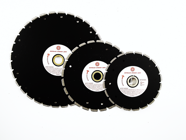 Apollo Professional Electroplated Marble Blade
