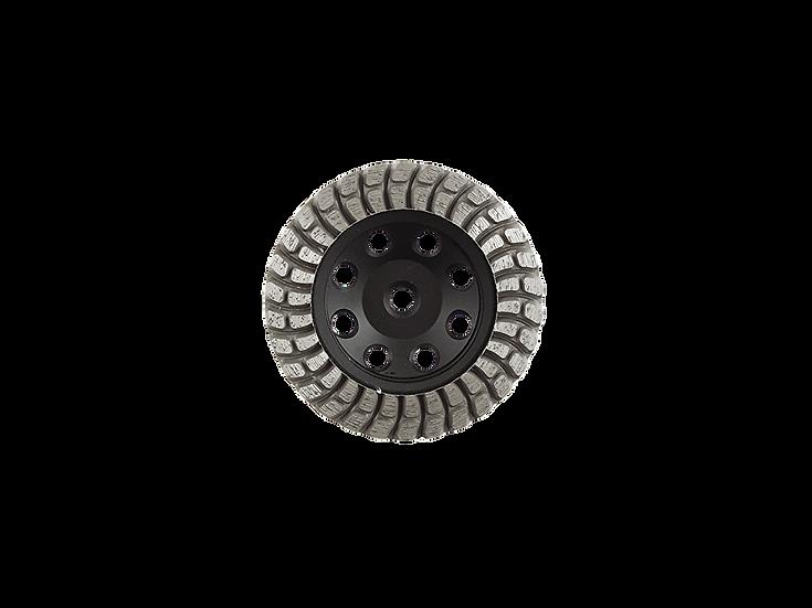 Double Row L-Steel Cup Wheel