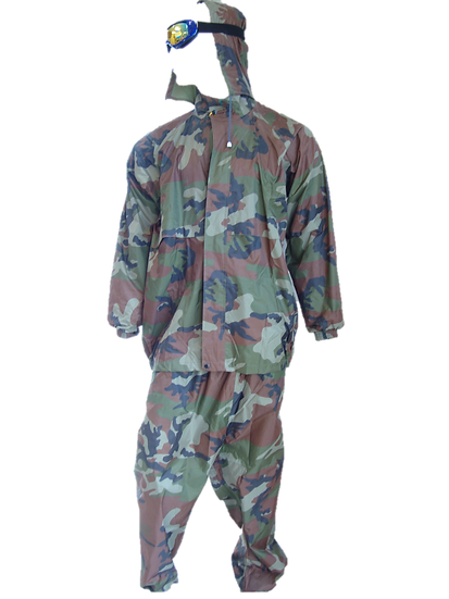 Apollo Rain Suit - Army Print