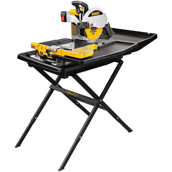 DEWALT 10 inch Wet Tile Saw with Stand
