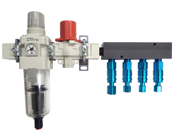 ALPHA® Filter/Regulator Manifold System