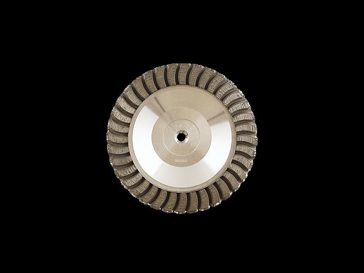 "6"" Professional Aluminum Body Turbo Cup Wheel"
