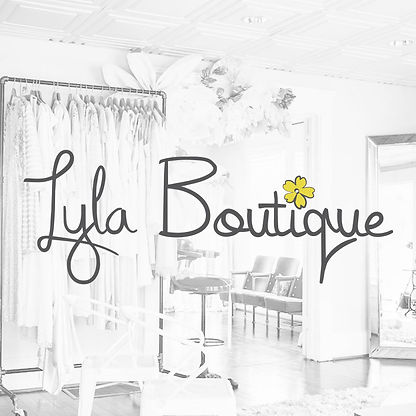 This is a logo designed for Lyla Boutique.