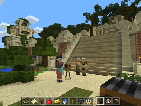 INTERACTIVE GAMING THROUGH MINECRAFT