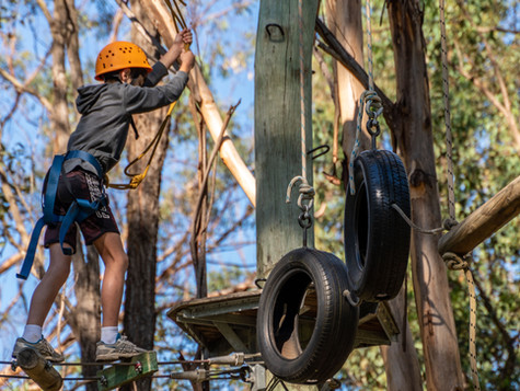 Lots of Adventures for Year 7 at Camp Yarramundi