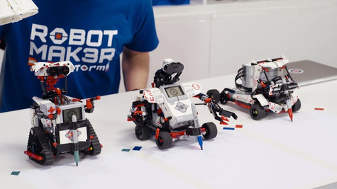 Inspire young engineers with Lego EV3
